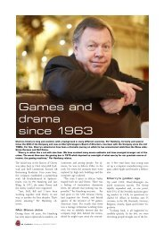 Read more about Per Hamberg and Cherry's history