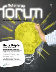 Energy Forum 3/11 - NetZulg AG