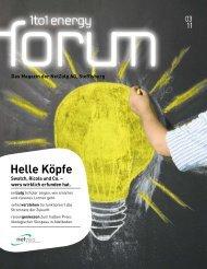 Energy Forum 3/11 - NetZulg AG