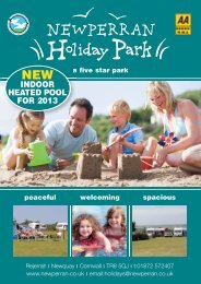 to download our brochure - Newperran Holiday Park