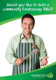 Store Community BBQ - Woolworths