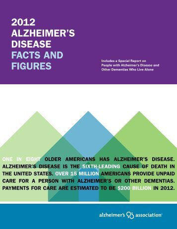 2012 Alzheimer's Disease Facts and Figures - Alzheimer's Association
