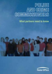 Police and crime commissioners - what you need ... - the Home Office