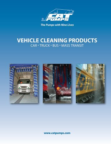 VEHICLE CLEANING PRODUCTS - Cat Pumps
