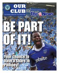 Your chance to have a share in Pompey! - Community Pompey