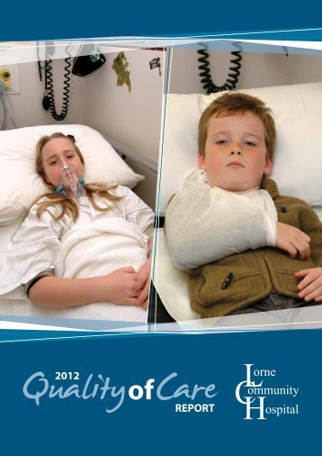 REPORT 2012 - South West Alliance of Rural Health