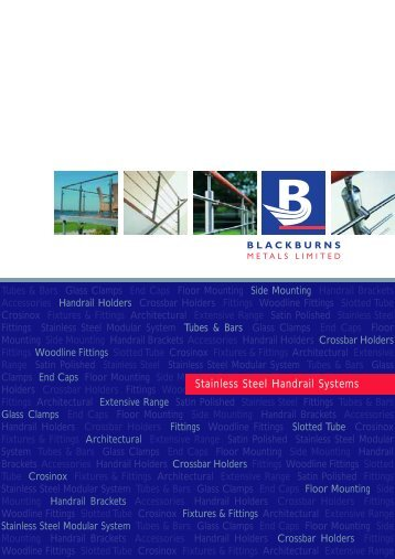 Stainless Steel Handrail Systems - Blackburns Metals Limited