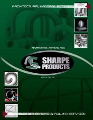 Handrail Fittings Catalog - Sharpe Products