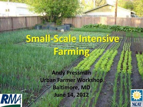 Small-Scale Intensive Farming - Farm Alliance of Baltimore