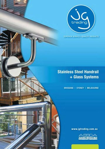 Stainless Steel Handrail + Glass Systems - Damesa Industries
