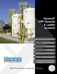 Dynarail FRP Handrail and Ladder Systems - Fibergrate