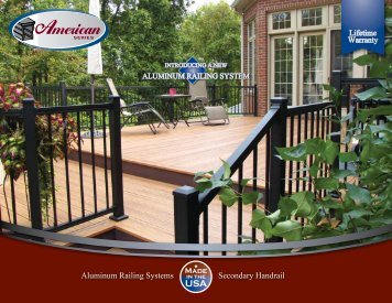 Aluminum Railing Systems in the Secondary Handrail