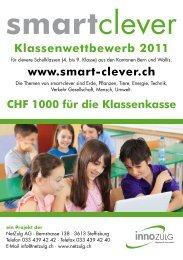 Klassenwettbewerb 2011 www.smart-clever.ch - NetZulg AG