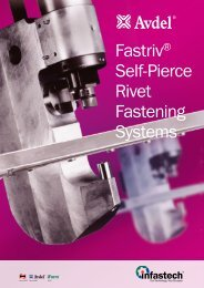 Fastriv® Self-Pierce Rivet Fastening Systems - Avdel Global