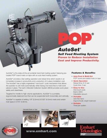 AutoSet® - Thread-Rite Screw Products Fasteners