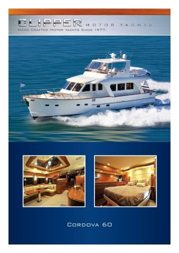 Cordova 60 - Clipper Motor Yachts