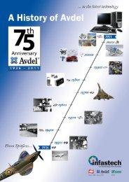 History Brochure - Avdel Global