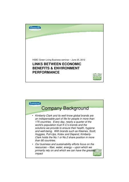 Kimberly Clark (Hong Kong) Limited - HSBC HK Commercial Banking