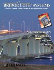 TEX•COTE® XL-70® BRIDGE•COTE® Brochure - Textured ...