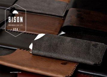 Catalog - Bison Made