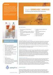 germguard® hand rub - Aseptix