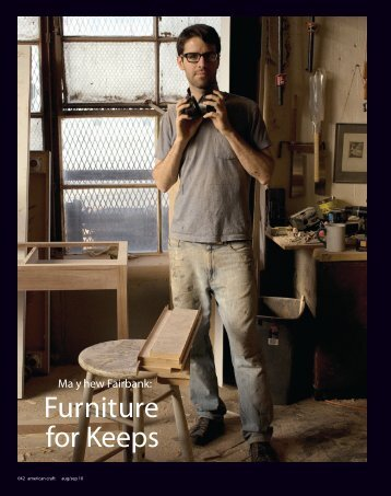 Furniture for Keeps - Matthew Fairbank Design