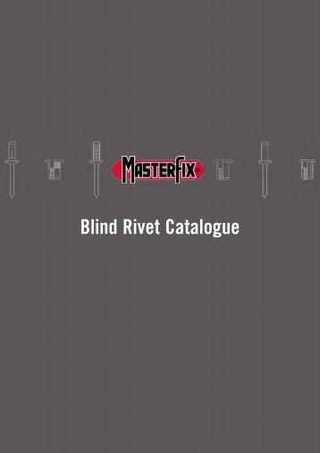 Blindklinknagel catalogus Blind Rivet Catalogue - Masterfix