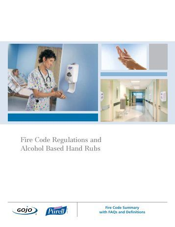 Fire Code Regulations and Alcohol Based Hand Rubs