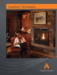 Gas Fireplace Brochure - Fireplaces
