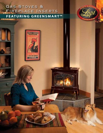 Gas Stoves & Fireplace Inserts - Lopi