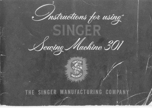 Singer 301 Sewing Machine - ISMACS