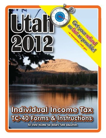 TC-40 Instructions - Utah State Tax Commission - Utah.gov