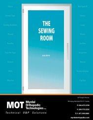 THE SEWING ROOM - Myrdal Orthopedics Technologies