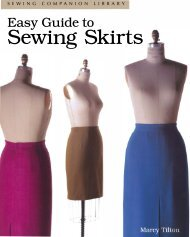 Sewing Skirts - Threads