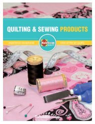 QUILTING & SEWING PRODUCTS