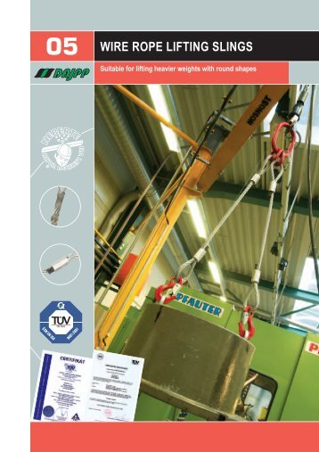 05 WIRE ROPE LIFTING SLINGS - DAJPP sro