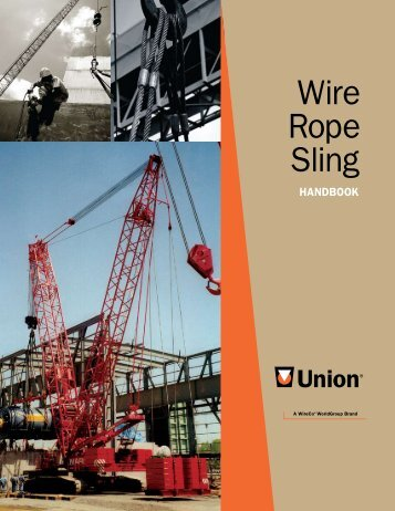 Click here to download the Wire Rope Sling - Union Wire Rope