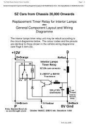Replacement Timer Relay for Interior Lamps - The Rolls-Royce and ...