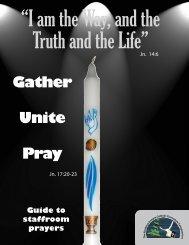 Staff Room Prayers - Northern Ontario Catholic Curriculum ...
