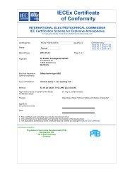 IECEx PTB 08.0057 X - r. stahl