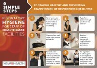 Respiratory Hygiene for Staff of Healthcare Facilities - NSW Health
