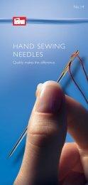 HAND SEWING NEEDLES - Prym