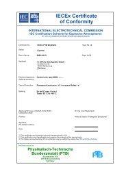 IECEx PTB 06.0032 U - r. stahl