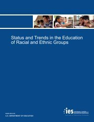 Status and Trends in the Education of Racial - American Institutes for ...