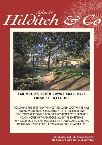 far motley, south downs road, hale cheshire wa14 - John N Hilditch ...