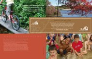 Annual Report 2009 - Hale Reservation