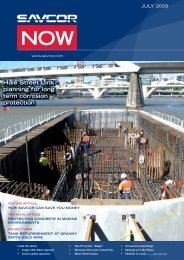 Hale Street Link - planning for long term corrosion ... - SAVCOR
