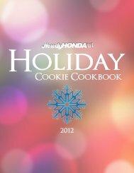Howdy Honda 2012 Holiday Cookie Cookbook