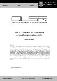 Lost in Translation? An Examination of Court Interpreting in Australia