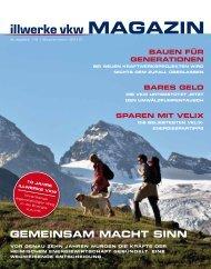 Illwerke VKW Magazin - September 2010
